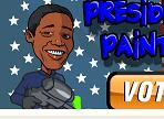Paintball como Presidente Obama Jogos Manuclip